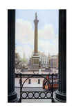 Nelson's Column and Trafalgar Square from the Terrace of the National Gallery, London, C1930S Giclee Print by Spencer Arnold