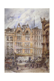 Gracechurch Street, City of London, 1882 Giclee Print by Thomas Colman Dibdin