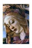Madonna of the Magnificat (Detail), 1482 Lámina giclée por Botticelli, Sandro