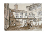 Alleyn's Almshouses, Gingerbread Court, Lamb Alley, City of London, 1851 Giclee Print by Thomas Colman Dibdin
