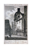 The Cock and Magpie Public House, Drury Lane, Westminster, London, 1807 Giclee Print by Samuel Rawle