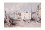 Cannon Street, London, 1851 Giclee Print by Thomas Colman Dibdin