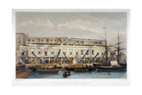Brewer's Quay, Chester Quay and Galley Quay, Lower Thames Street, City of London, 1841 Giclee Print by Thomas Hosmer Shepherd