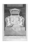 Monument to Captains James Mosse and Edward Riou, St Paul's Cathedral, City of London, 1806 Giclee Print by Samuel Rawle