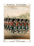 Bonnie Scotland, Sheet Music Cover, C1860 Giclee Print by T Packer