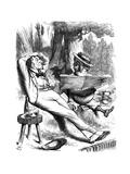 Otium Cum Diz!, 1878 Giclee Print by  Swain