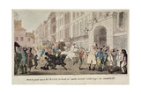 People Bargaining for Mounts at West Smithfield, London, 1825 Giclee Print by Theodore Lane