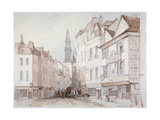 Drury Lane, Westminster, London, 1851 Giclee Print by Thomas Colman Dibdin