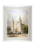 View of an Unknown Religious Building in Regent Square, St Pancras, London, 1842 Giclee Print by Thomas Hosmer Shepherd