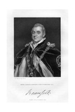 Henry Charles Somerset, Duke of Beaufort, 1829 Giclee Print by Thomas Phillips