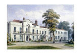 View of Brompton Lodge, Kensington, London, 1857 Giclee Print by Thomas Hosmer Shepherd