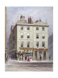 Clement's Stores at the Junction of Holywell Street and Wych Street, Westminster, London, 1855 Giclee Print by Thomas Hosmer Shepherd