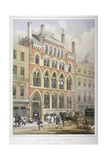 Crosby Hall at No 95 Bishopsgate, City of London, 1860 Giclee Print by Vincent Brooks