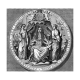 The Great Seal of King George I Giclee Print by  Vandroit
