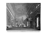 View of the Saloon in Buckingham House, Westminster, London, 1819 Giclee Print by William James Bennett