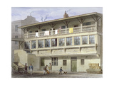 The White Bear Inn on Piccadilly, Westminster, London, 1856 Giclee Print by Thomas Hosmer Shepherd