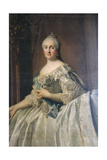 Portrait of the Empress Catherine the Great, after 1762 Giclee Print by Vigilius Erichsen