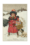 Trade Card for Sunlight Soap, C1900 Giclee Print by Tom Browne