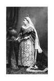 Queen Victoria in Her State Robes, 1887 Giclee Print by  Walery