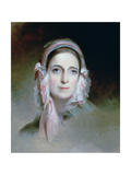 Mrs Mordecai Lewis, 1843 Giclee Print by Thomas Sully