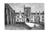 Queen's College, Cork, 1900 Giclee Print by W Lawrence