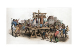 A Pillory, 1805 Giclee Print by William Henry Pyne