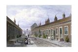 Skinners' Almshouses, Mile End Road, Stepney, London, C1840 Giclee Print by Thomas Hosmer Shepherd