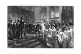 Marriage of the Duke and Duchess of Connaught, 13 March 1879 Giclee Print by Sydney Prior Hall
