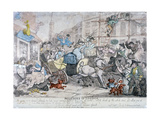 Miseries of London..., 1807 Giclee Print by Thomas Rowlandson