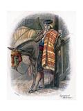 Spanish Muleteer, 1809 Giclee Print by W Dickes