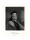 Nicholas Ridley, (Died October 16, 155), English Clergyman, 19th Century Giclee Print by W Holl