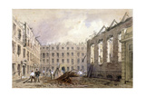 The Demolition of Lyon's Inn, Westminster, London, 1862 Giclee Print by William Henry Prior