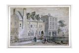View of a Nunnery in Osnaburgh Street, London, C1830 Giclee Print by Thomas Hosmer Shepherd