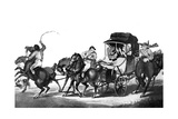 English Travelling, or the First Stage from Dover, 1785 Giclee Print by Thomas Rowlandson