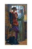 Claudio and Isabella, 1850 Giclee Print by William Holman Hunt