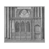 Tomb of Thomas Kemp in Old St Paul's Cathedral, City of London, 1656 Giclee Print by Wenceslaus Hollar