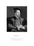 Charles V, King of Spain and Holy Roman Emperor Giclee Print by W Holl