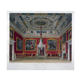 Interior View of the Drawing Room in Buckingham House, Westminster, London, 1817 Giclee Print by Thomas Sutherland
