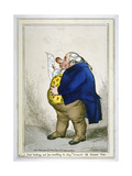 Just Looking Out for Somthing to Stay My Stomach Till Dinner Time, 1830 Giclee Print by William Heath
