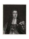 King William III, 19th Century Giclee Print by W Holl