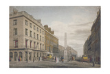 New Bridge Street, City of London, 1809 Giclee Print by William James Bennett