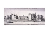 Lambeth Palace, London, 1647 Giclee Print by Wenceslaus Hollar