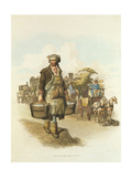 Water Carrier, 1808 Giclee Print by William Henry Pyne