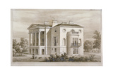 View of South Villa in Regent's Park, London, 1827 Giclee Print by Thomas Hosmer Shepherd