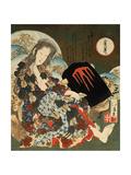 Yama-Uba with Kintaro, 1840S Giclee Print by Totoya Hokkei