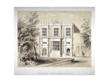 Stockwell Educational Institute, Stockwell, Lambeth, London, C1860 Giclee Print by William Dickes