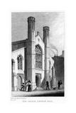 New Church, Saffron Hill, Camden, London, 19th Century Giclee Print by Thomas Hosmer Shepherd
