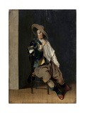 A Smoker, 17th Century Giclee Print by Willem Cornelisz Duyster