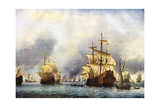 The Surrender of the Prince Royal'. C1650-1700 Giclee Print by Willem Van De Velde The Younger