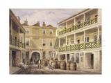 Bell Inn, Aldersgate Street, London, 1857 Giclee Print by Thomas Hosmer Shepherd